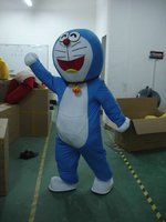 Machine cat Doraemon Mascot Costume Outfit Suit Fancy Dress