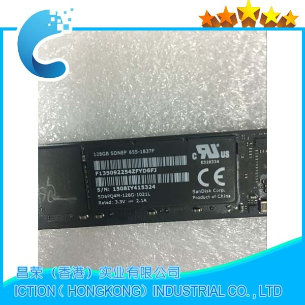 Original 512GB SSD Internal Solid State Drives For Macbook Air 11'' A1465 /Air 13'' A1466 SSD 2013 2014 MD711 MD712 MD760 MD761