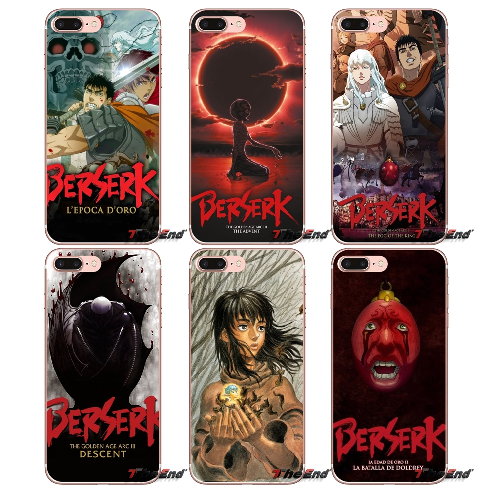 Berserk Golden Age Arc II Soft Case Cover For Samsung