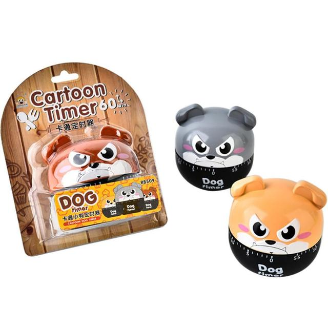 Dog Timer Kitchen Timer Cute Cooking Gadget Tool Fun Collectible For Pet  Mechanical Alarm Timer Clock