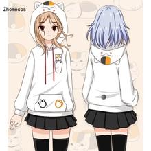 Coton Amine Natsume Yuujinchou Nyanko Sensei sweat à capuche veste manteau Costumes Cosplay pour femme