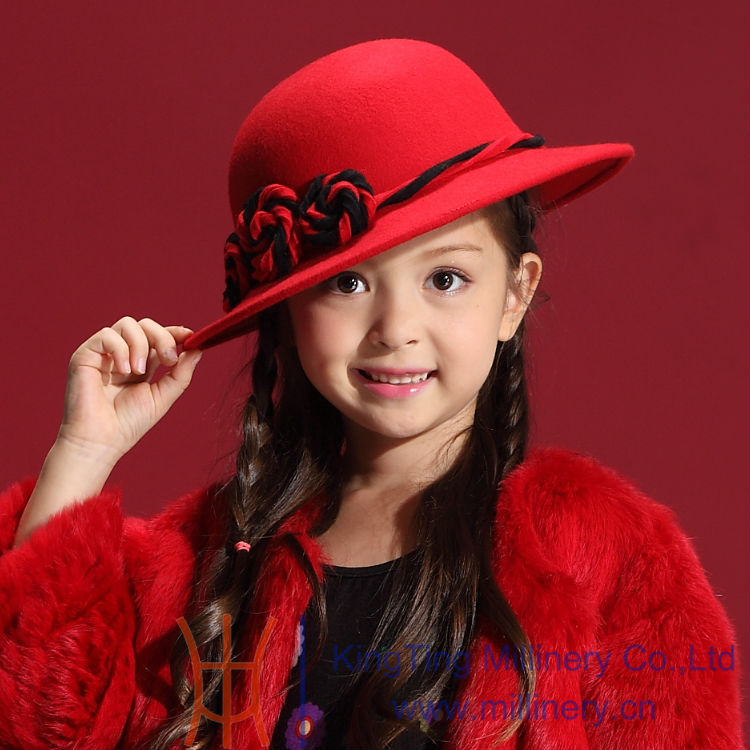 ФОТО New Arrival Kids Girl Hats Winter Hair Accessories Custom Made Children Girl Casual Hats & Caps
