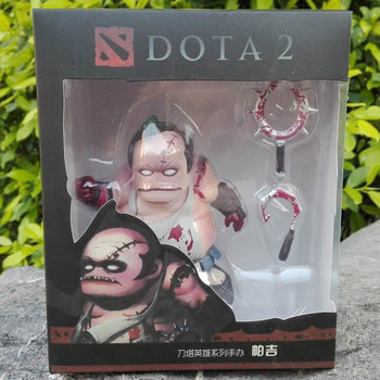 New 7 styles DOTA 2 Game Figure Tiny Kunkka Lina Pudge Queen Tidehunter CM FV PVC Action Figures Collection dota2 Toys 2
