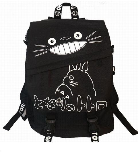 New My Neighbor Totoro Ghibli School Bag Shoulder Bag Backpack Bookbag Cosplay аккумулятор для легкового автомобиля exide 65ач classic ec652 об