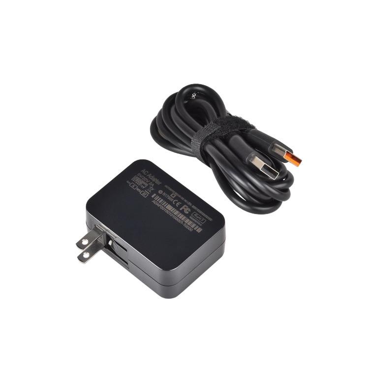 20V 5V 2A 40W přenosný napájecí adaptér pro notebooky pro Lenovo Yoga4 pro Yoga3 pro jóga 700 900 Ideapad 700S s kabelem 1,5m USB