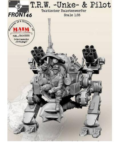 New Unassembled 1 35 Modern armor soldier UNKE AND PILOT Resin Kit DIY Toys Unpainted resin