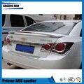 Высокое качество ABS Неокрашенный задний спойлер багажника подходит для спойлер Cruze со светом