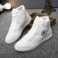 New fashion spring summer 2017 fashion heels shoes with flat breathable man platform/casual shoes