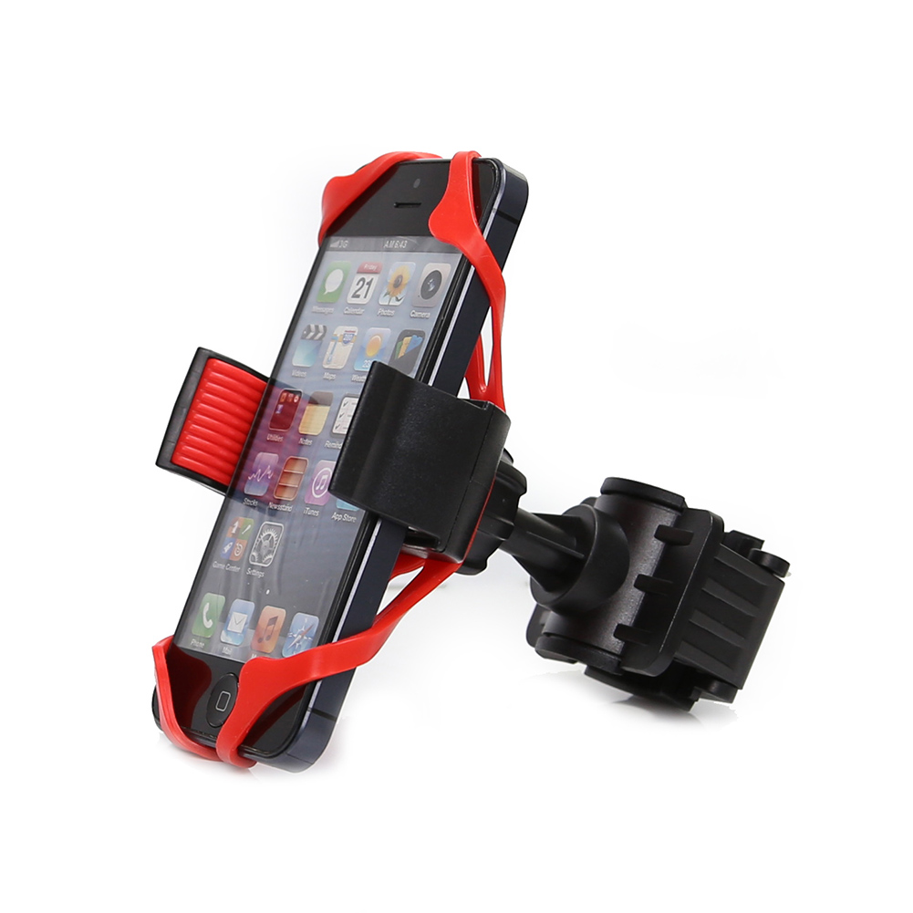 Bike Holder 360 Rotatable adjustable Universal phone holder Bicycle Mount Holder for iPhone samsung Xiaomi and GPS Device