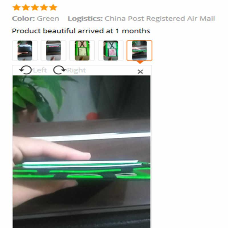 Unisex Dompet Kartu Pemegang Wanita Pria Mini atau Netral Mengenai Saham Kulit Buatan Magic Bifold Kulit Dompet Dompet 2017 Baru Fashion Dompet
