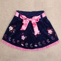 navy blue baby girls summer skirts,children's clothes,skirt for girl,kids short skirts,vestidos infantis birthday