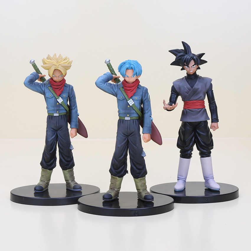 13-20 centímetros anime Dragon ball Z DBZ Super Saiyan figura Soul X Alma Preto Son Goku Trunks PVC action Figure Modelo Brinquedos Bonecas Vol.2