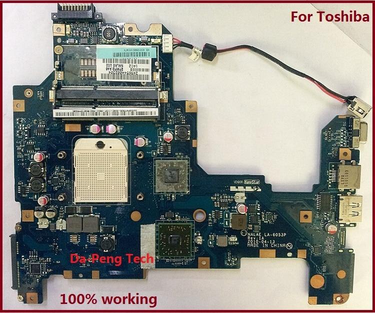 KEFU MOTHERBOARD FOR TOSHIBA Satellite L670D L675D K000103980 NALAE U01 LA 6053P 100 TESTED GOOD