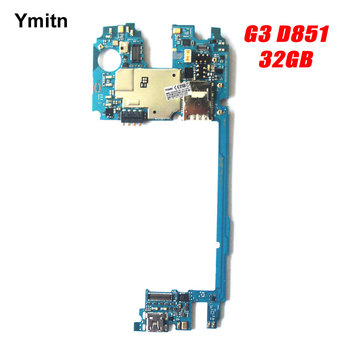 Ymitn Unlocked Tested Mobile Electronic panel mainboard Motherboard Circuits Cable For LG G3 D851 32GB