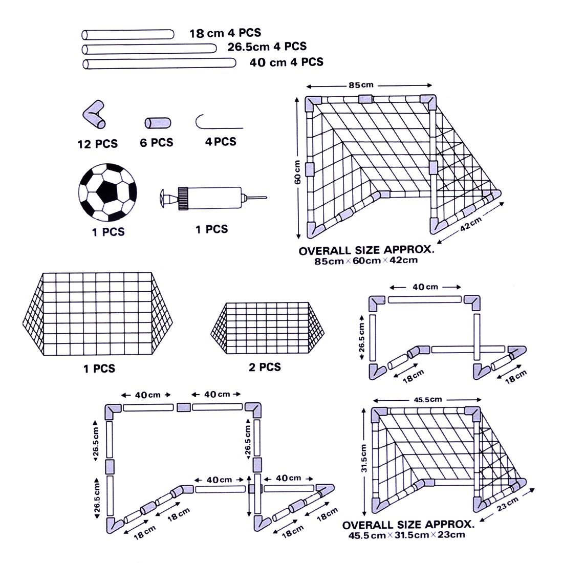 Portable Collapsible Football Kit 2 In 1 Kids Basketball Backboard Hoop Dimensions Diagram Soccer Goal Set Training Toy L Sports From Toys Hobbies On