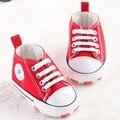 """""""Bebê"""" Clássico Tênis Esportivos Botas Das Meninas Dos Meninos Primeiro Walkers Bebê Recém-nascido Prewalker Infantil Criança Anti-slip Sapatos de bebê"""