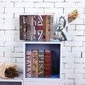 Größe M Versteckte Box Lock Schlüssel Simulation Buch Stil Durable Stahl Hause Büro Geld Schmuck Sichere Versteckte Lagerung Box