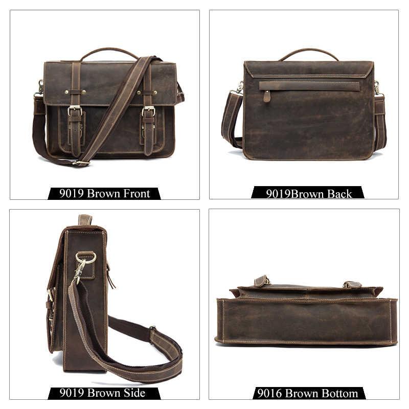 ... WESTAL Мужской портфель сумка мужская через плечо мужская сумка  натуральная кожа высокое качество мужская сумка натуральная ... 1bff9c0fd1f