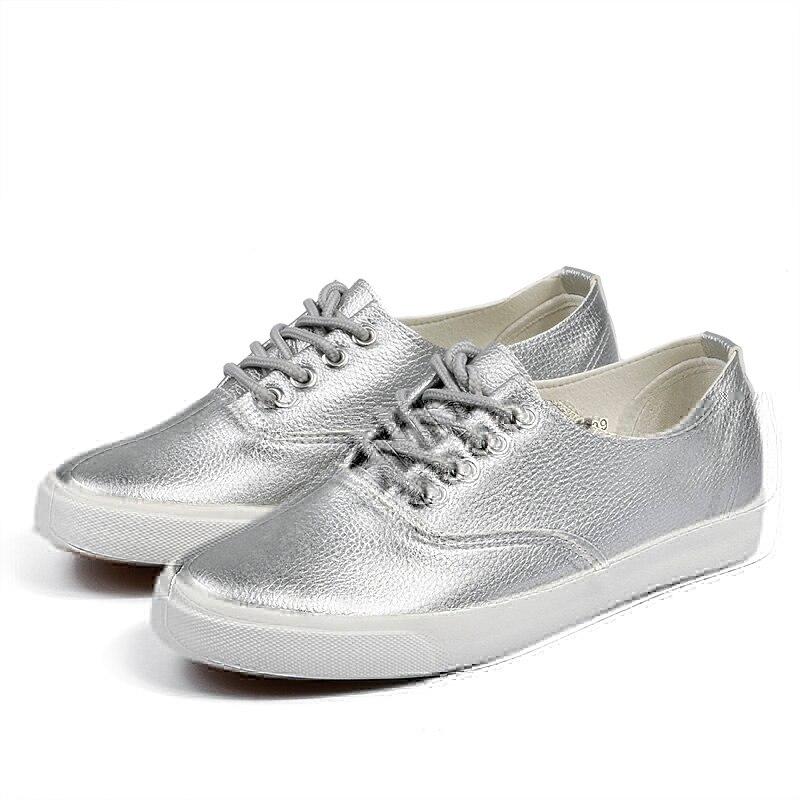 GOGC Flache Schuhe Frauen Atmungsaktive Frauen Sneakers Schuhe Hohe - Damenschuhe - Foto 3