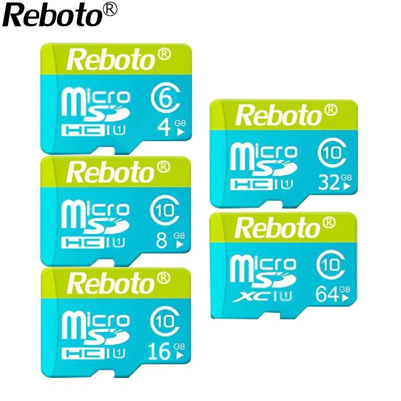 2017 Newest Microdrive Green and Blue Memory Card 4GB 8GB 16GB 32GB 64GB Micro SD Card