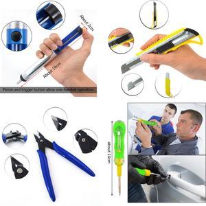 Image 5 - Kit fer à souder électrique 110V/220V avec multimètre, outil de soudure, pompe à dessouder 60W, température