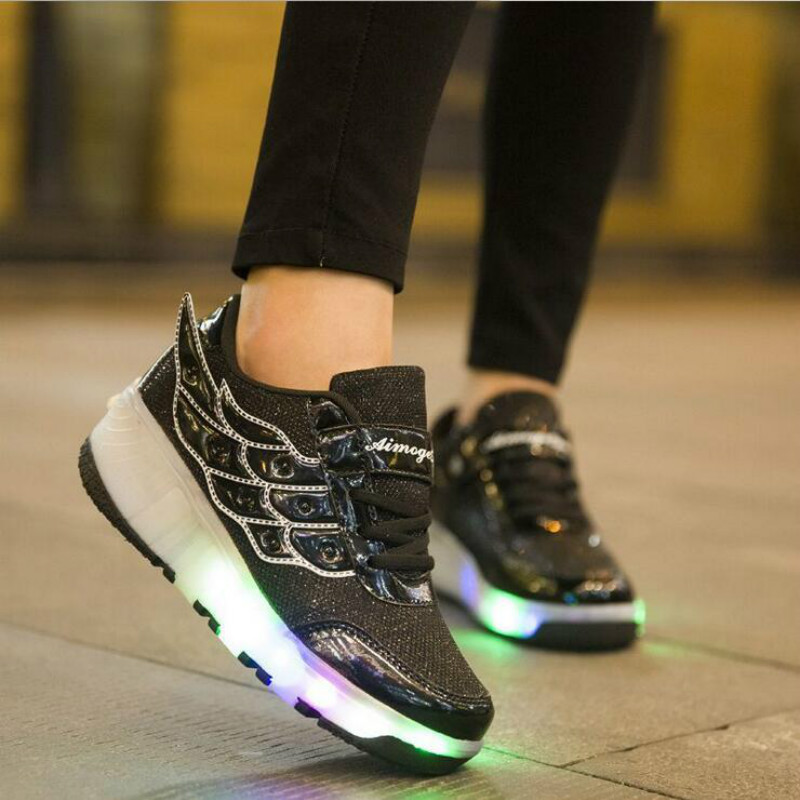 HOT-2017-New-Arrived-Children-shoes-Girls-Boys-Wing-Led-Light-Sneakers-Shoes-With-Kids-Shoes-2