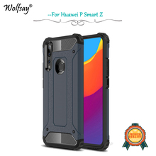 Huawei P Smart Z Case Shockproof Armor Rubber Silicone Hard Phone For Back Cover Fundas