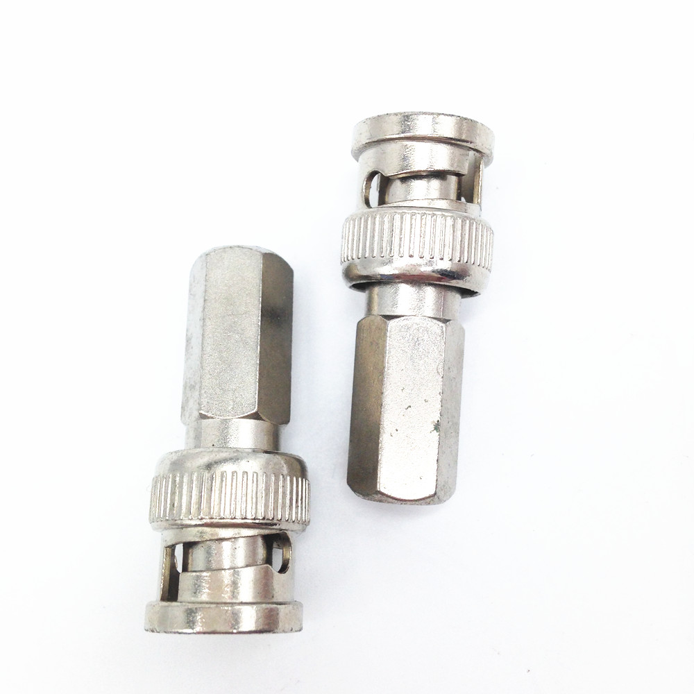 10pcs/lot CCTV Camera Male Coax BNC Twist RG59 Connector COAXIAL/BNC Connector Free Shipping