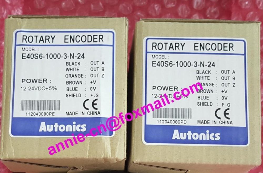 все цены на  E40S6-1000-3-N-24  New and original Autonics  INCREMENTAL ROTARY ENCODER  онлайн