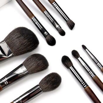 OVW All Goat Hair 7/8/9 PCS Makeup Brush Set Professional Cosmetic conjunto pinceis de maquiagem for Eye Shadow Face Contour 5