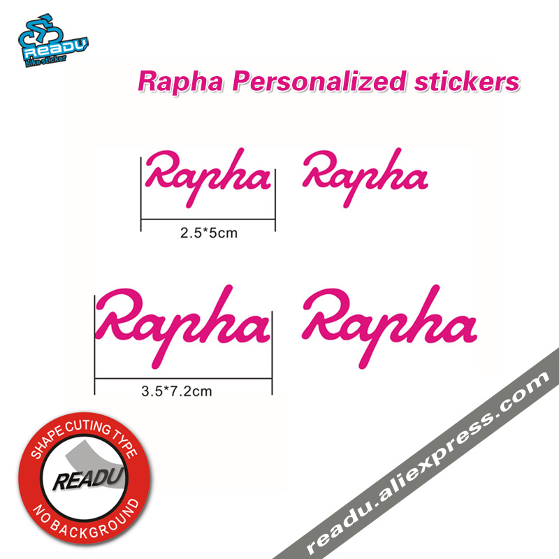 Rapha Stickers Road Bike Frame Personalized Stickers Bicycle Tube Stickers Frame Handlebar Decals