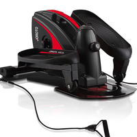 JOROTO Indoor Fitness Equipment Elliptical Stepper Pedal Exercise Machine Home Gym Mini Elliptical Trainer Fitness Machine