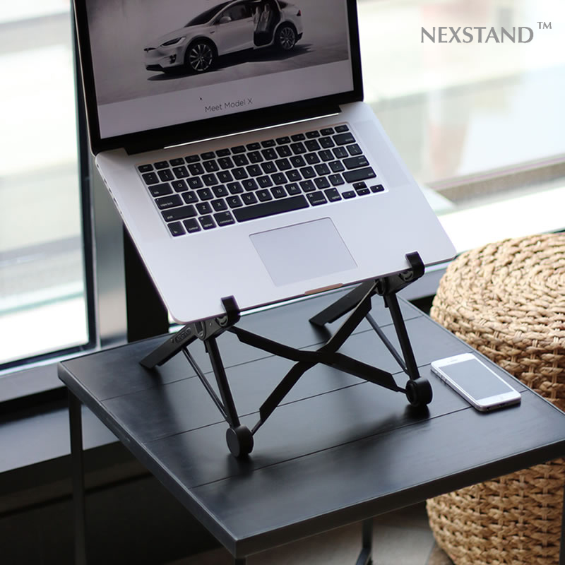 Nexstand Folding Portable Lapdesk Pro And Office Part Laptop Stand Works On More Than 11 6 Inch Tablet Three In One Box Lapdesks From Computer