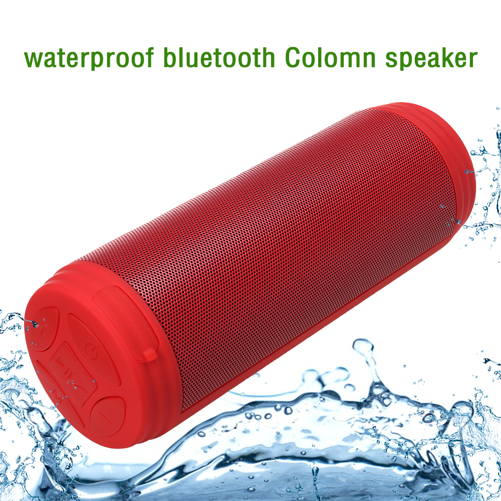 Zonyee Bluetooth Speakers Upgrated 10W Big Power Portable wireless altavoz Speaker FM Radio TF Outdoor Column Waterproof speaker lesoi f1 portable wireless bluetooth speaker support tf card