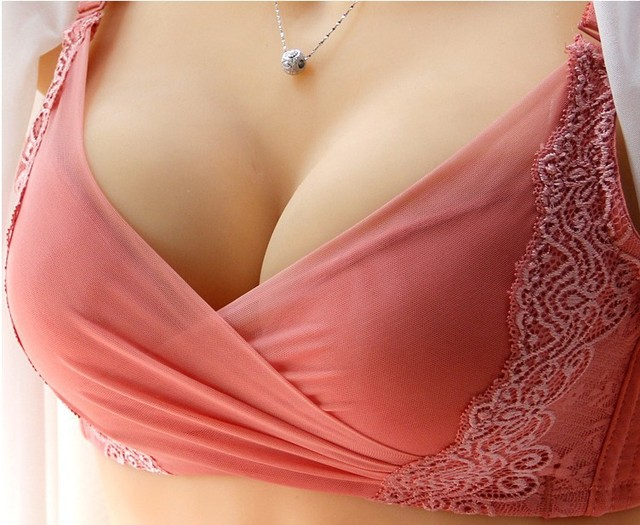 69bb3850f6 5cm thick bra gather small chest flat chest girls sexy lingerie bra  adjustable 0001