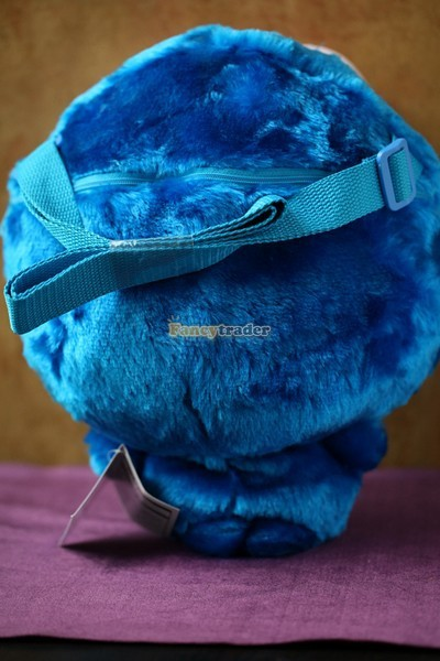Fancytrader 15\'\' 36cm Copyrighted Plush Stuffed Cookie Monster Shoulder Bag, Free Shipping FT90380 (5)
