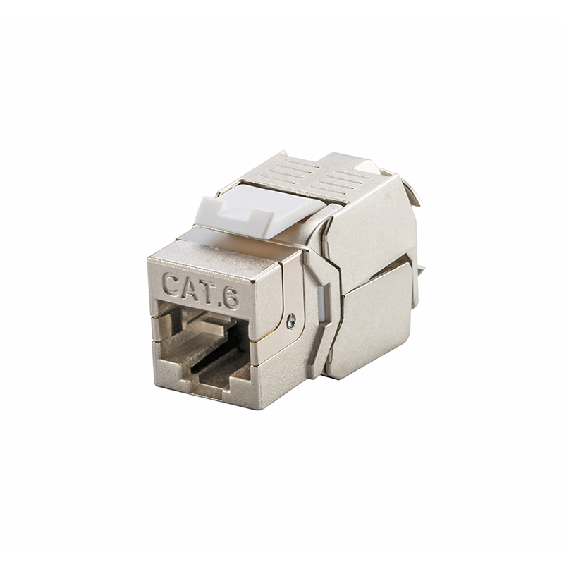(4pcs/pack) Network RJ45 CAT6 Keystone Jack Full Shielded & RJ45 to LSA Tool Free Connection аксессуар белак бак 32116