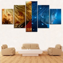 5 Panel Game Final Fantasy Modular Picture Modern Home Wall Decorative Canvas Painting Art HD Print On For Living Room