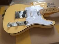 Electric guitar TL 3 pickups guitar/yellow color electric guitar/guitar in china