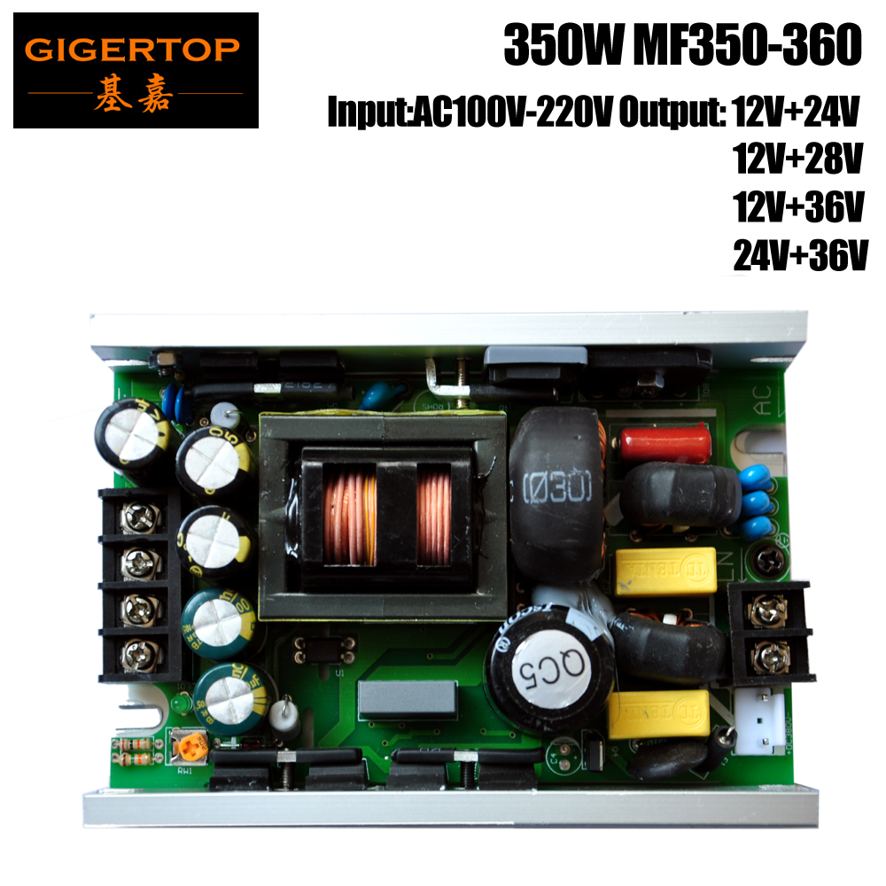 MF350-360 350W Power Supply for 4 Eyes COB Led Audience Light/Led Penal Light High Power Support Long Time Working TIPTOP Light 90w led driver dc40v 2 7a high power led driver for flood light street light ip65 constant current drive power supply
