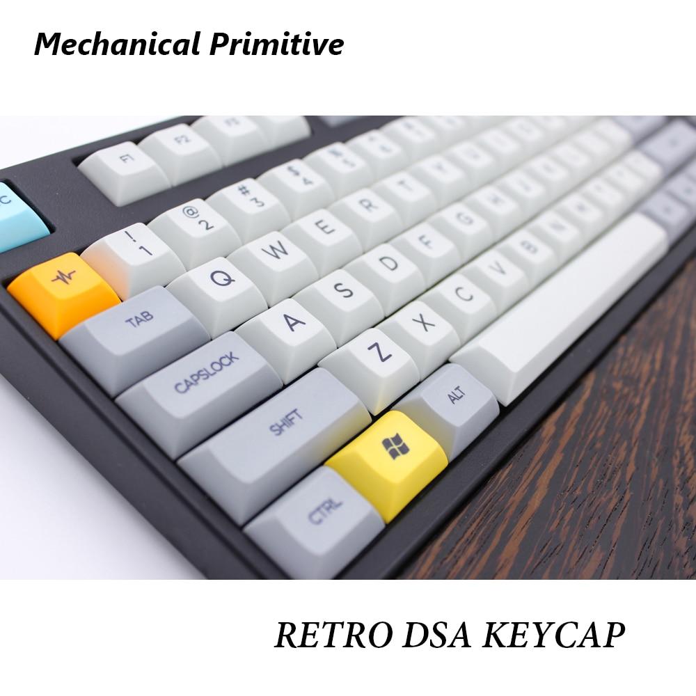 MP Retro Beige 134 KEYS SA PBT Keycap Blank/Sublimation Keycap