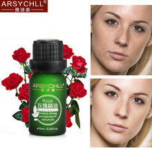 ARSYCHLL Skin Care Pure Rose Essential Oil Whitening Moisturizing Acne Spot Freckle Removal Anti Wrinkle Aging Beauty Face Care