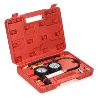Авто цилиндров герметичности сжатия детектор утечки Давление датчик барометр Tool Kit Набор двойной датчик Системы и чехол
