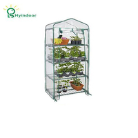 Hyindoor Garden Supplies Agriculture Greenhouse PVC Scree MINI Greenhouse Sunroom