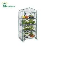 Hyindoor Garden Supplies Agriculture Greenhouse PVC Scree MINI Greenhouse Sunroom