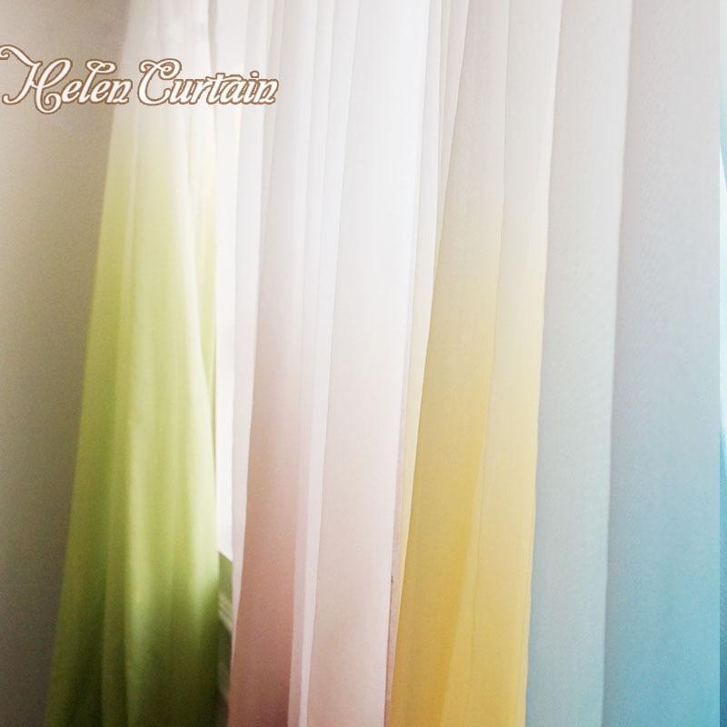 Завіса Олени Сучасні градієнтні - Домашній текстиль