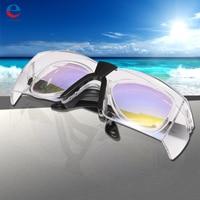 Goggles Professionele Beschermende CO2 Laser 10600nm Eyewear Bril Goggles Dubbellaags met Glazen doek Case