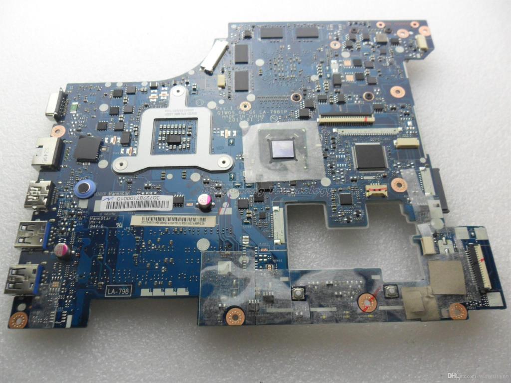 For Lenovo G580 laptop motherboard LA-7981P Intel CPU DDR3 100/% tested