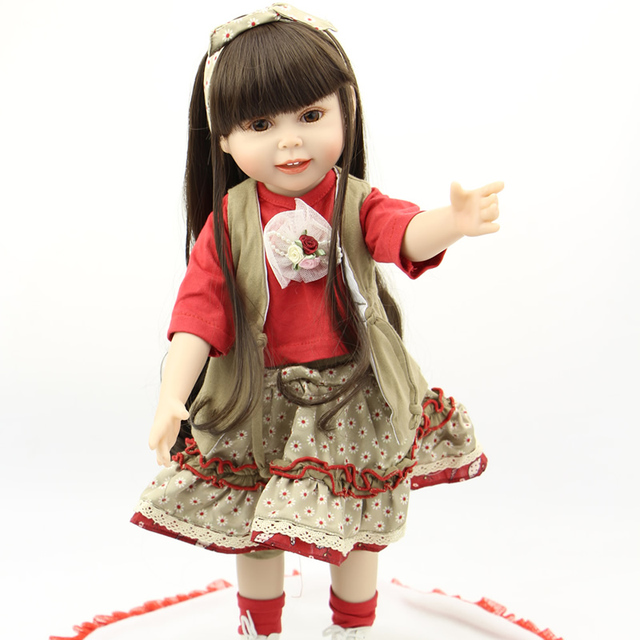 """Новый 18-дюймовый Американская Девушка Кукла Одежда Мода Юбка Платье Для 18 """"Куклы Девушки"""