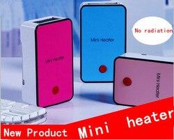 2018 sin radiación Mini calentador eléctrico de aire caliente ventilador de escritorio portátil materiales de protección contra incendios dispositivo de calefacción eléctrica de mano